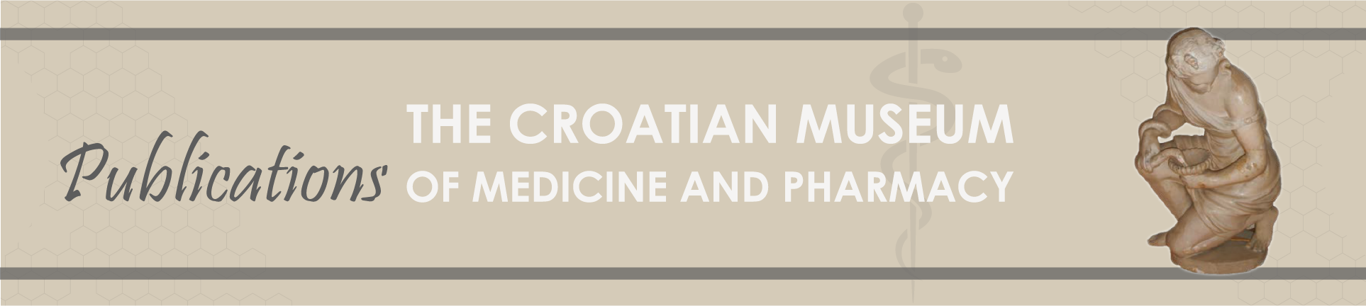 The Croatian Museum of Medicine and Pharmacy - Publications