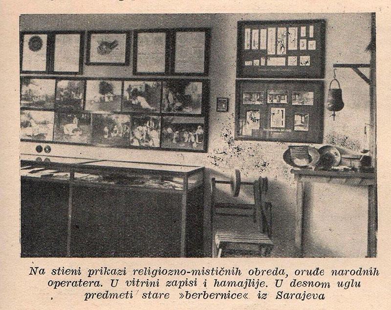 Postav Muzeja za povijest zdravstva, Liječnički vjesnik, 1944
