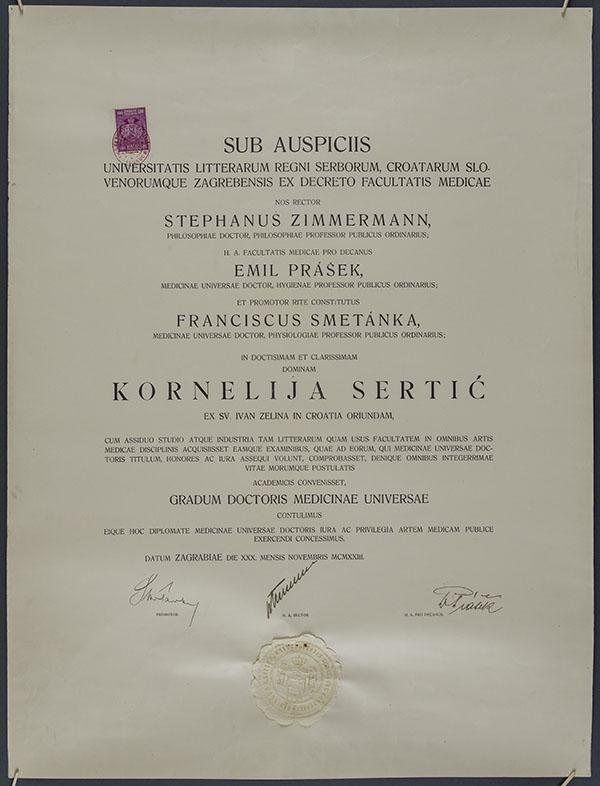 Kornelija Sertić HMMF