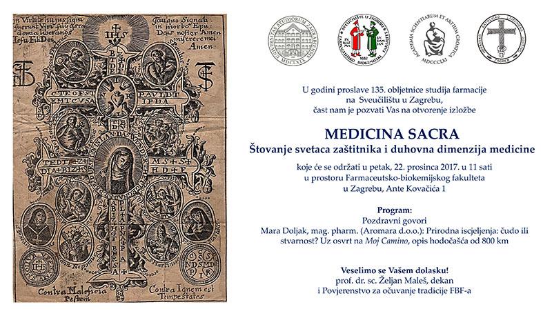 Pozivnica Medicina Sacra