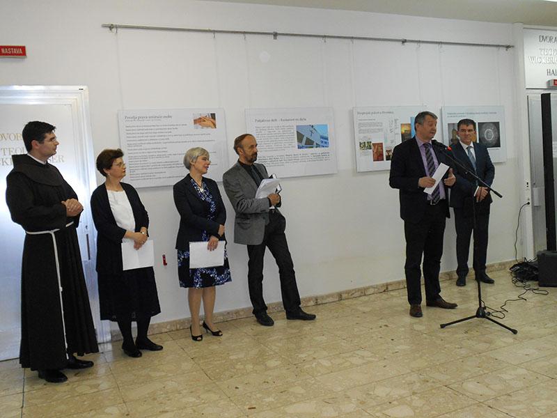 Otvorenje izložbe na MEF-u