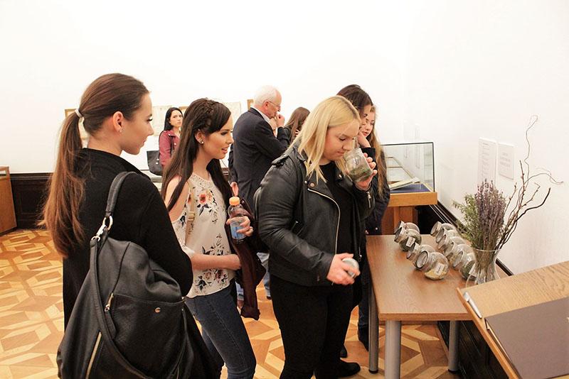 Muzejski vremeplov - Posjetitelji razgledaju izložbu