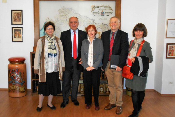 Hrvatski iseljenik prof. dr. Steven Živko Pavletić posjetio HAZU, HMMF i OPMZ