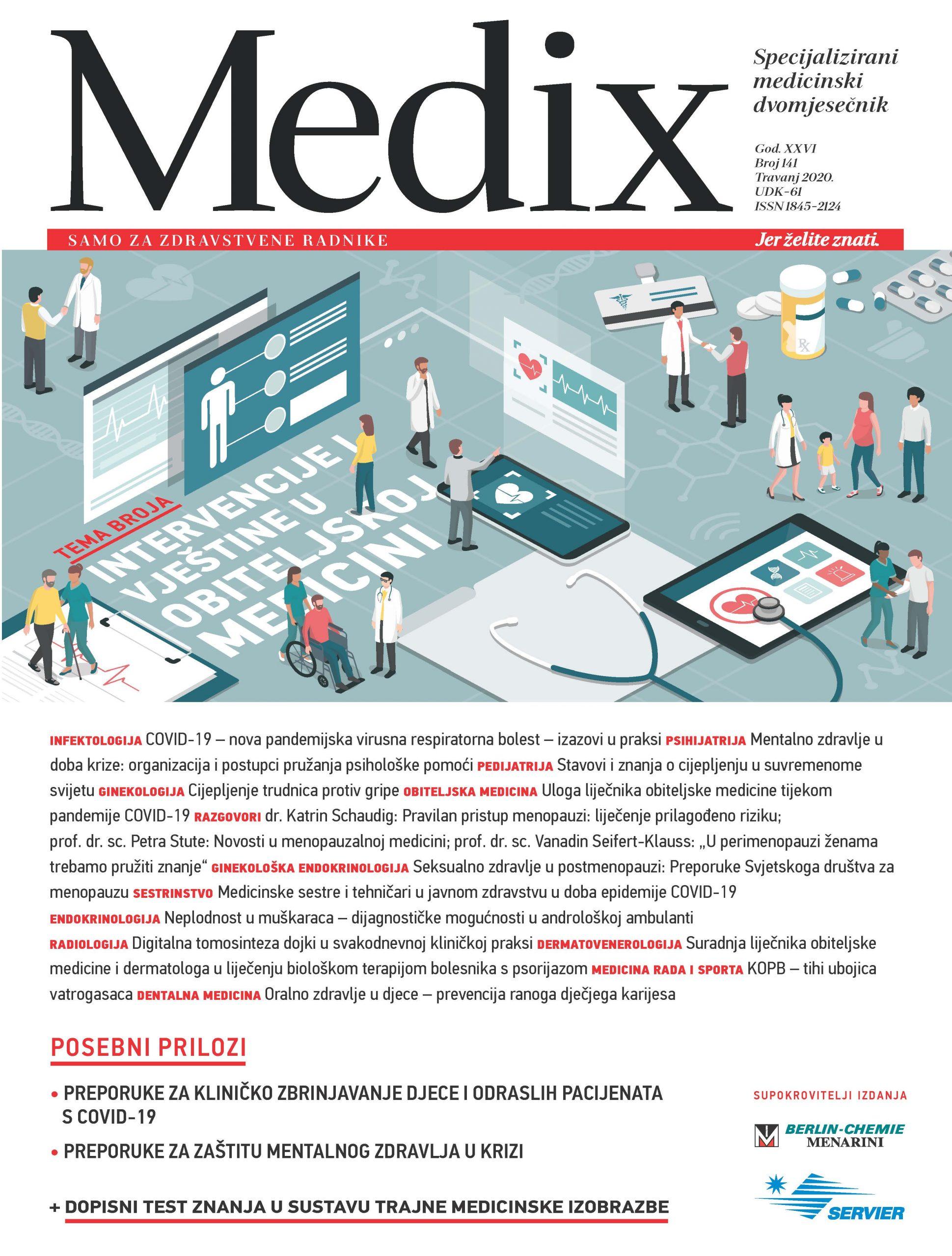 Aktualno: pandemija COVID-19 u časopisu MEDIX