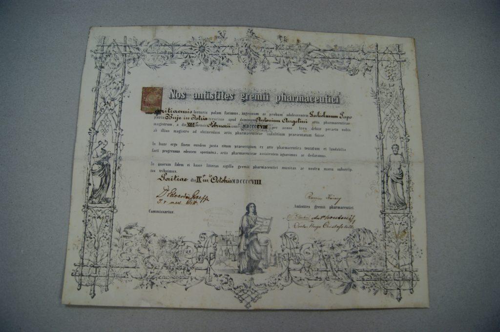 Restaurirane diplome za stalni postav Muzeja